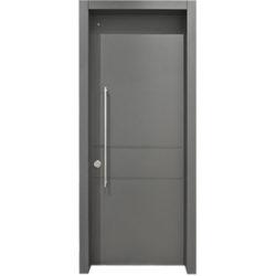 דלת פלדלת מעוצבת דגם לוגאנו