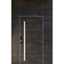 דלתות מעוצבות במישור הקיר (דלתות קו אפס)