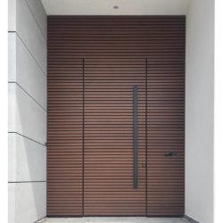 דלת מעוצבת במישור הקיר -קו 0 דגם 199113
